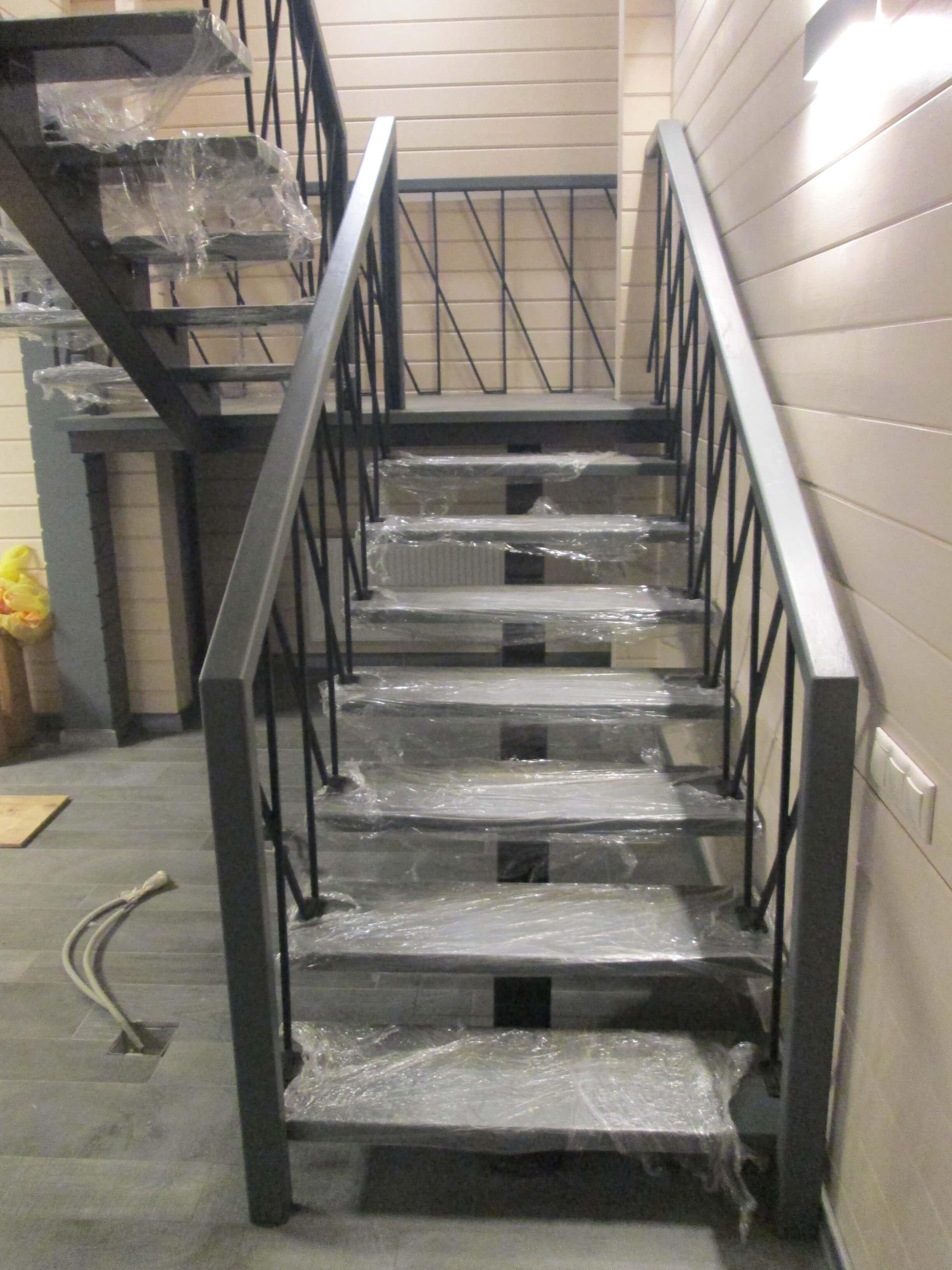 Купить комбинированную лестницу в Москве