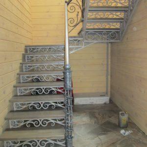 Купить кованую лестницу в Москве