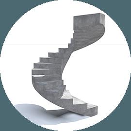 Купить бетонную лестницу в Москве