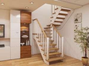 Деревянные лестницы компании PRO-Lestnica