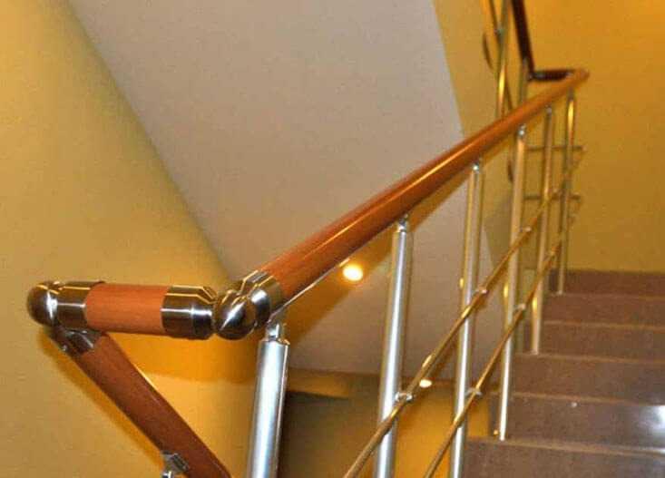 Алюминиевые ограждения лестниц в Москве