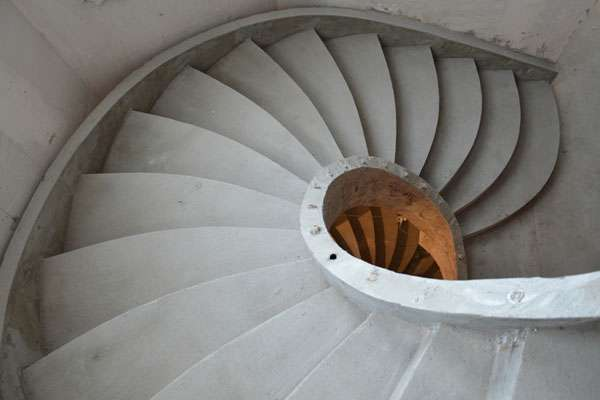 монолитные бетонные лестницы в дом во Владимире