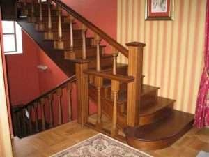 Деревянные лестницы на заказ недорого