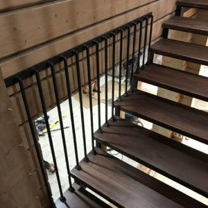 Комбинированная лестница в Москве