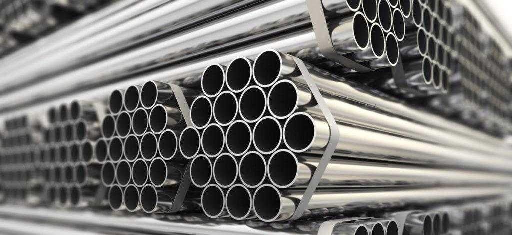 Трубы из нержавеющей стали на фото