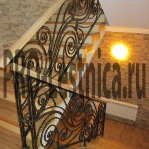 Перила для лестницы на 3 этаж