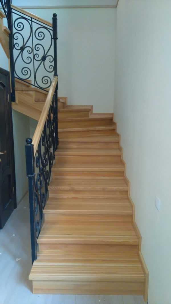 Лестница в баню на второй этаж