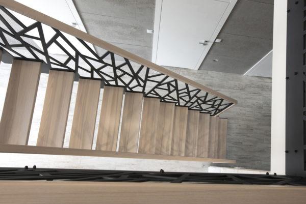 Лестница - лазерная резка металла