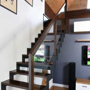 Лестница на второй ярус