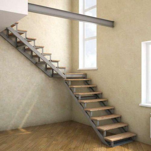 Стальные каркасы лестниц на заказ в Москве