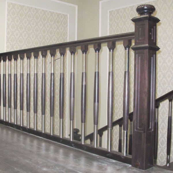Комбинированные лестничные ограждения для лестниц
