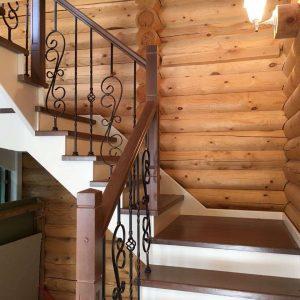 заказать деревянную лестницу в дом