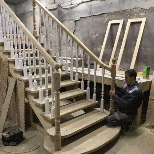 Производство лестниц фото
